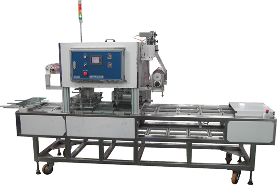 Continuous Type Tray Sealing Machine