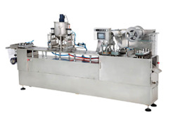 Thermoformer( fully automatic Blister forming , filling and sealing machine)