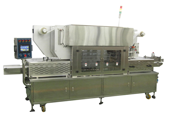 Tray Sealing Machine High Speed Auto Feed System