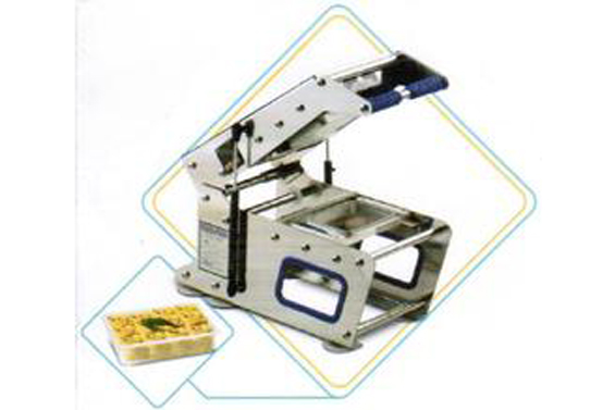 Tray Sealing Machine for 3 Partitions