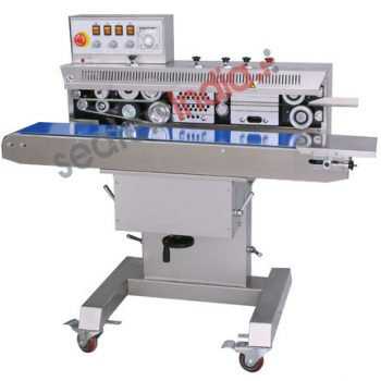 band sealer with gas flusing