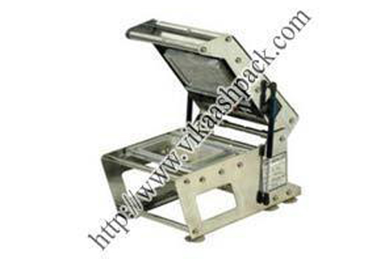 Tray Sealing Machine for 2 Partitions